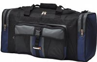 Large 50L foolsGold® Sports Holdall Bag - Black/Navy